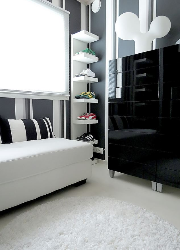 Black & White Ikea Decor