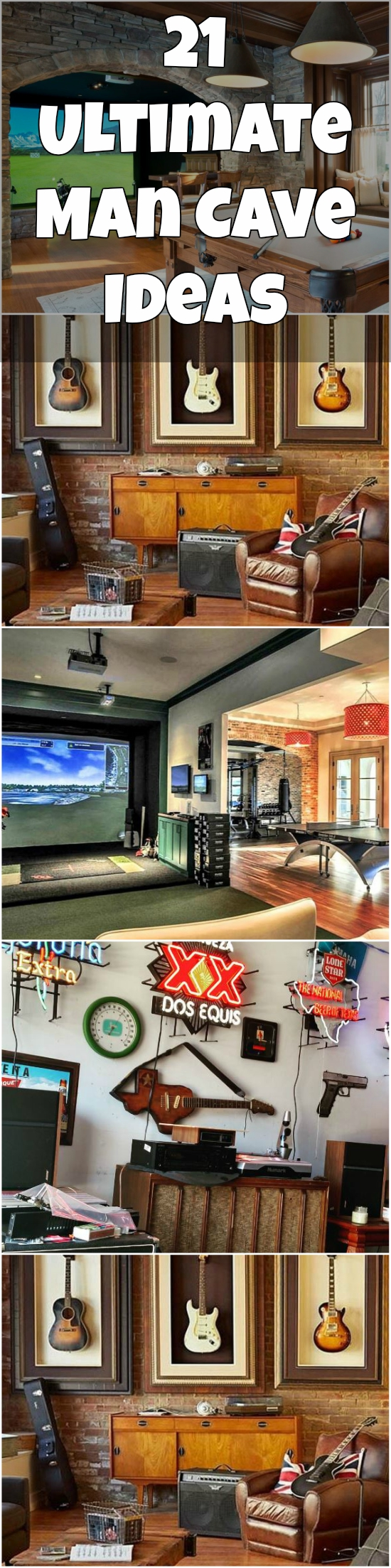 21 Ultimate Man Cave Ideas