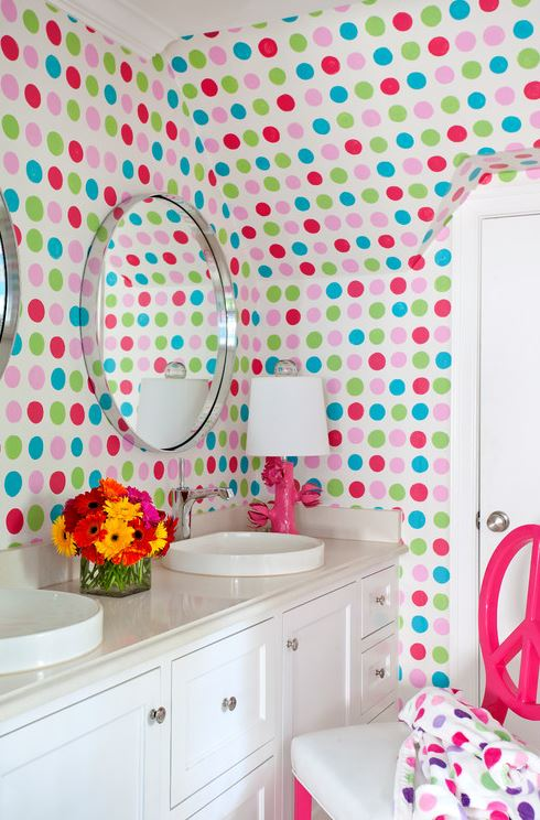 Colorful Bathrooms