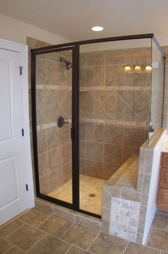 Brown Country Shower