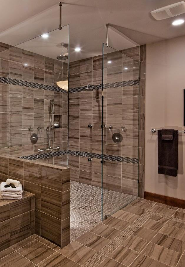 Luxury Walk in Shower