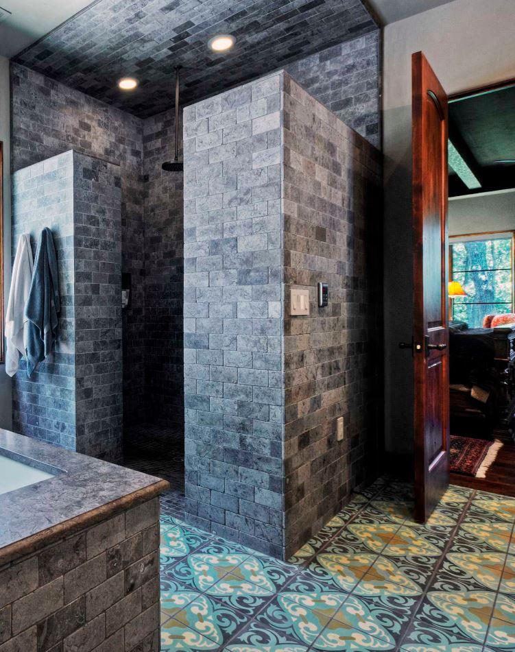 Modern Futuristic Walk in Shower