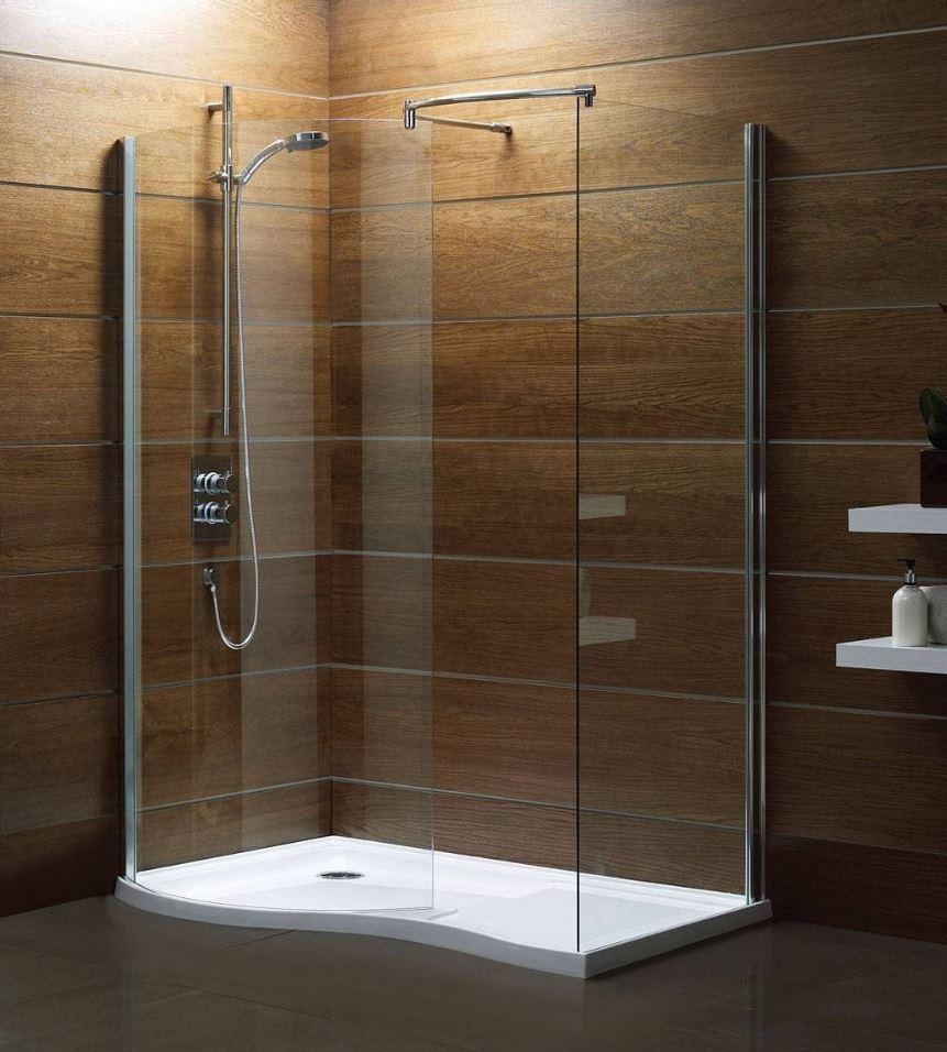 Modern Luxury Walk in Shower