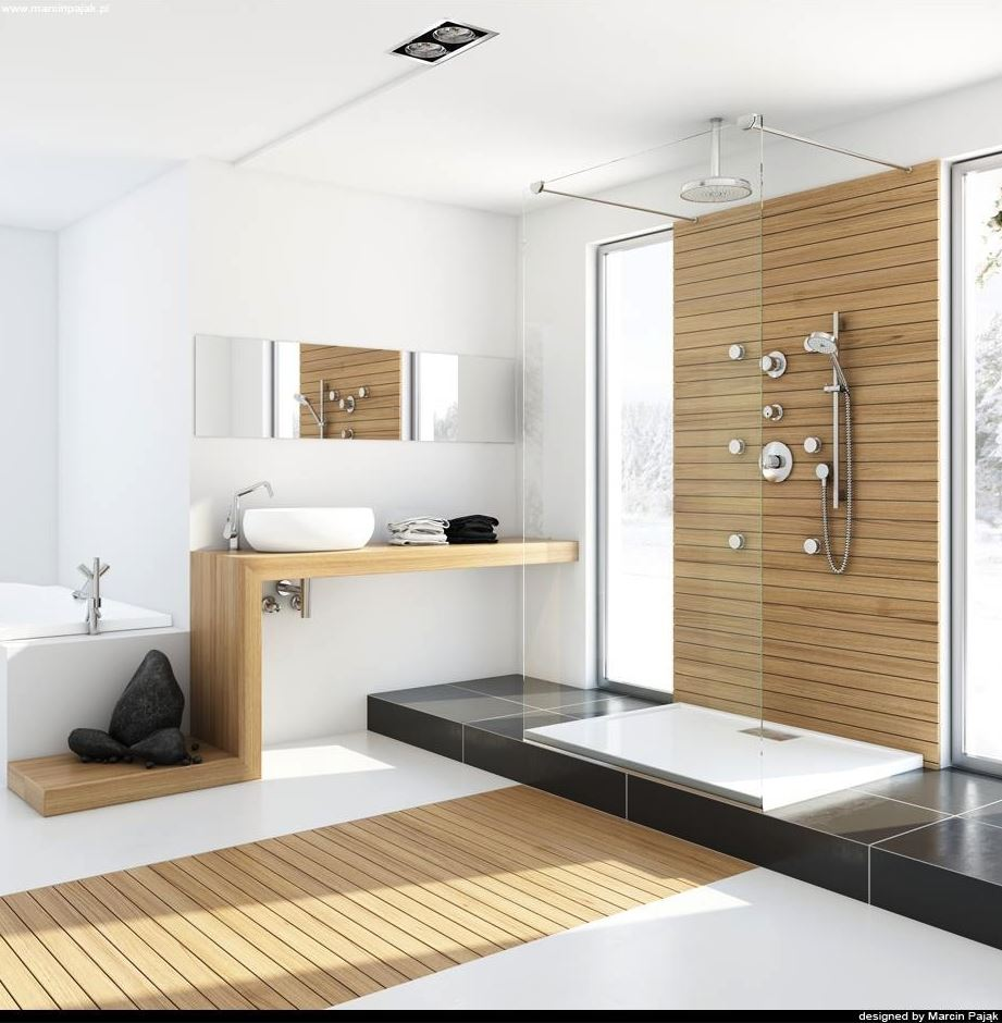 Spa Style Walk in Shower