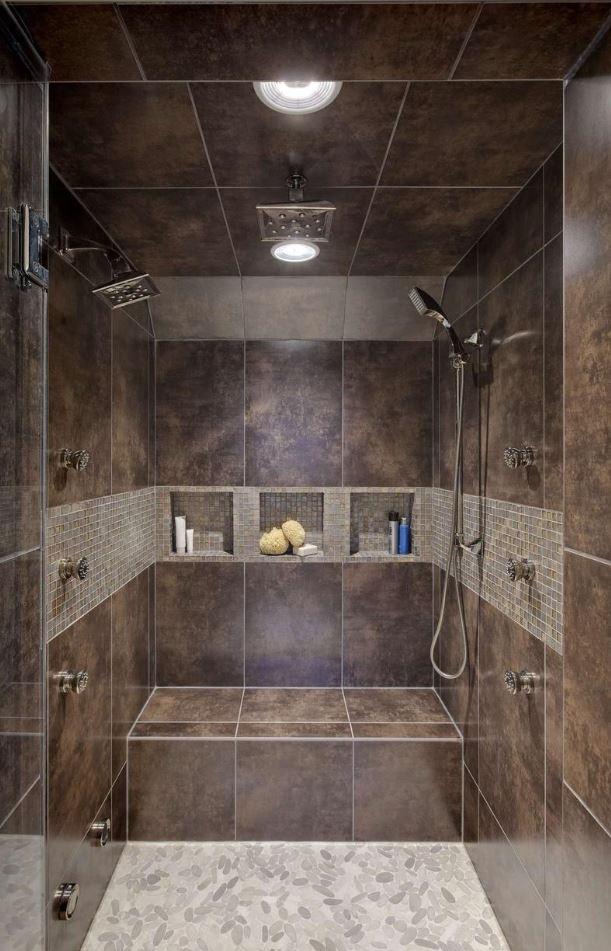 Wide Walk in Shower