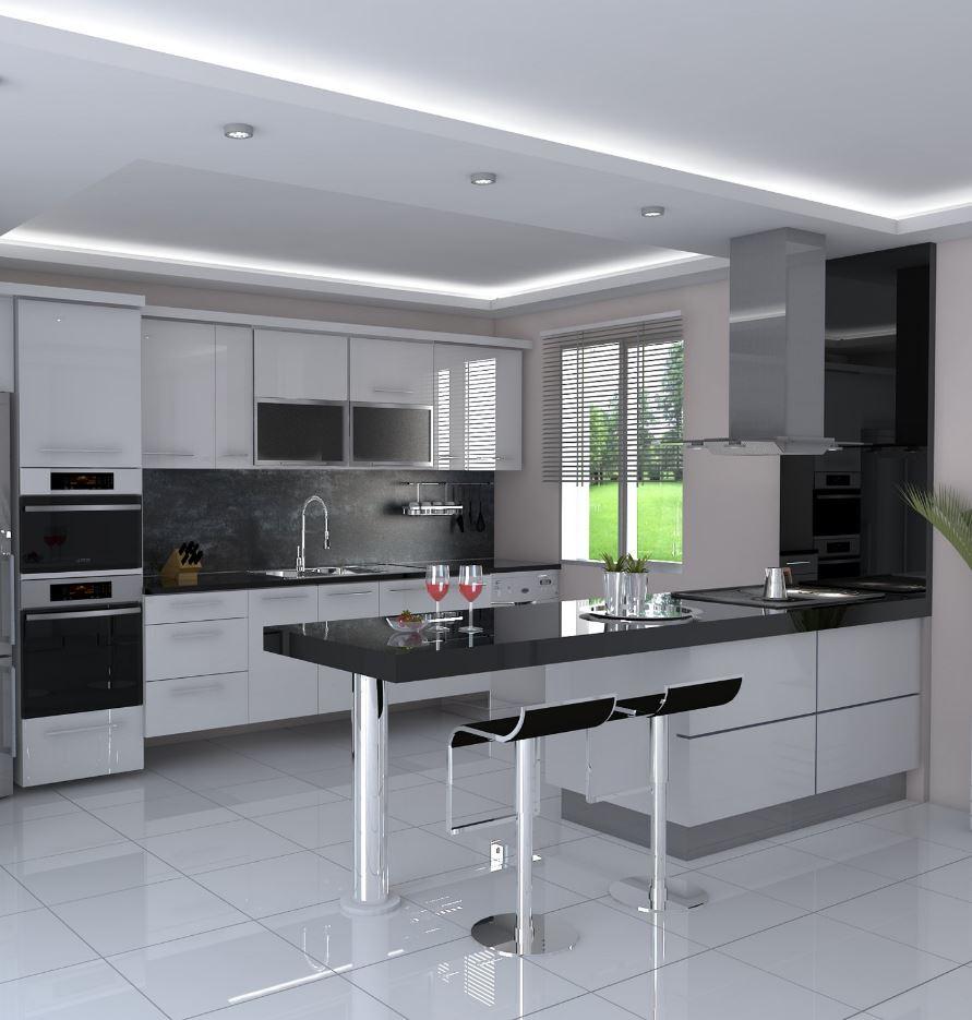 50+ Modern Decorated Kitchen Design Ideas