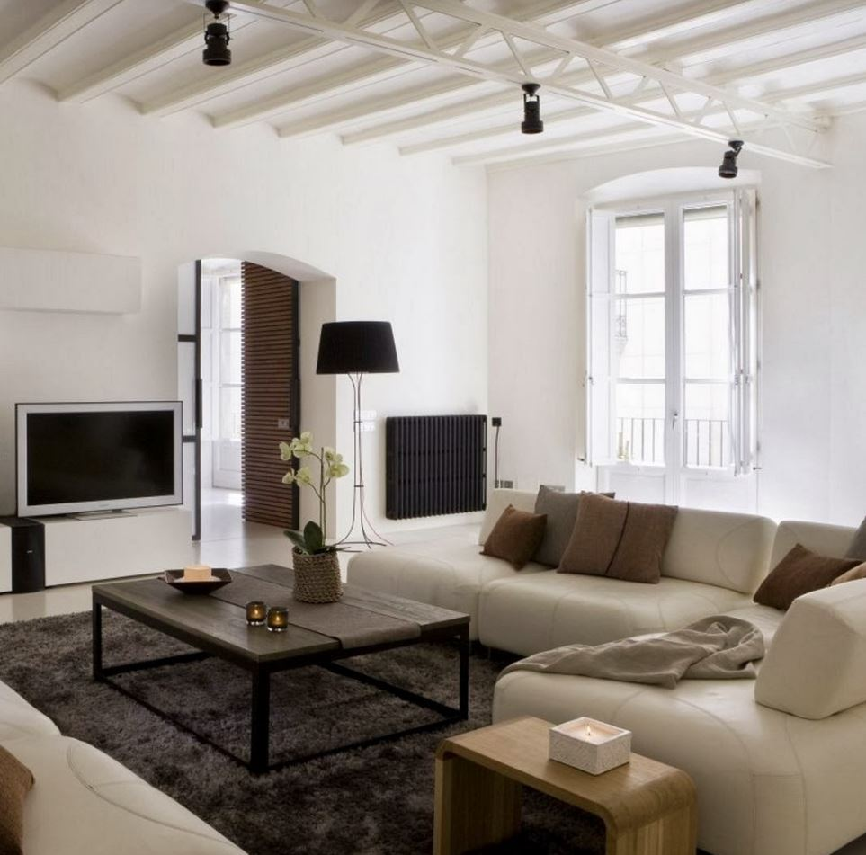 Painted This 50 39 S Style Home Modern Living Room Of 50s Modern ...