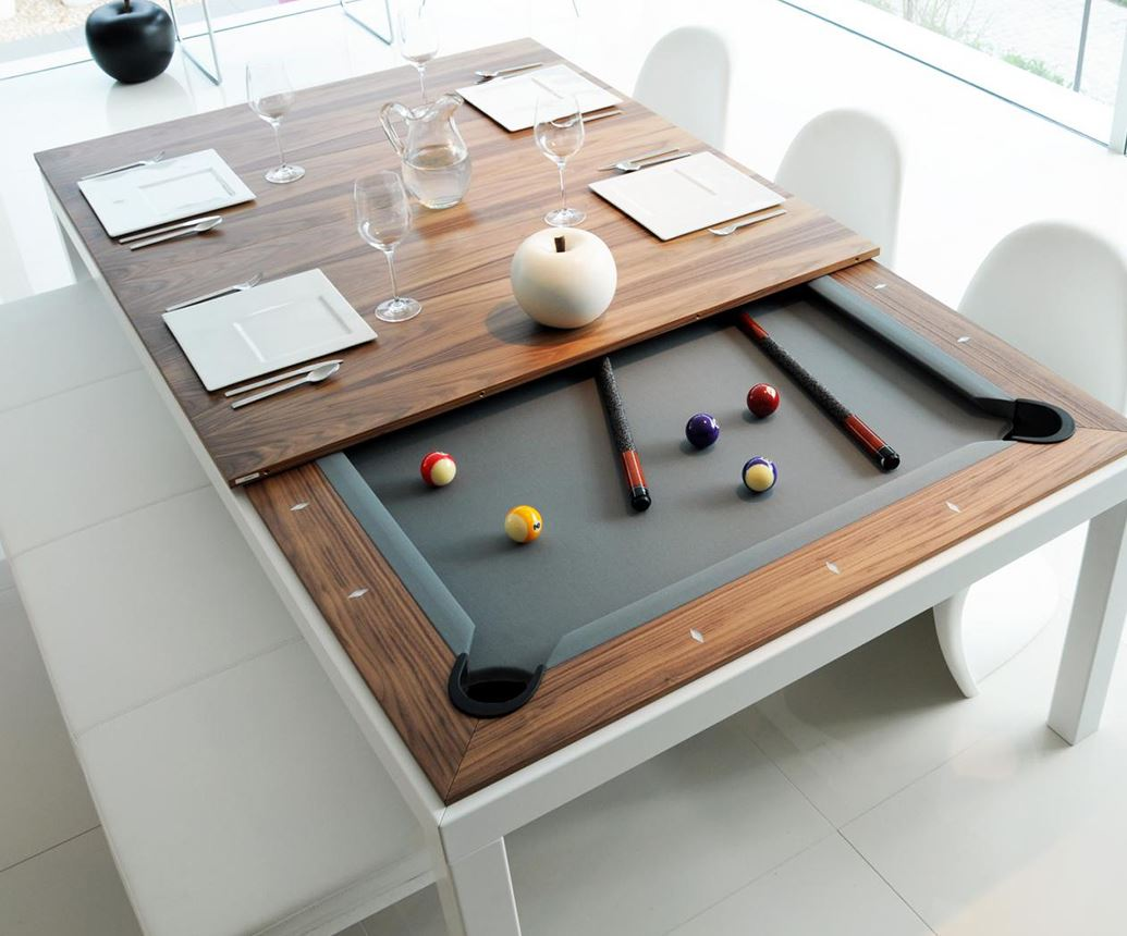 Dining And Pool Table