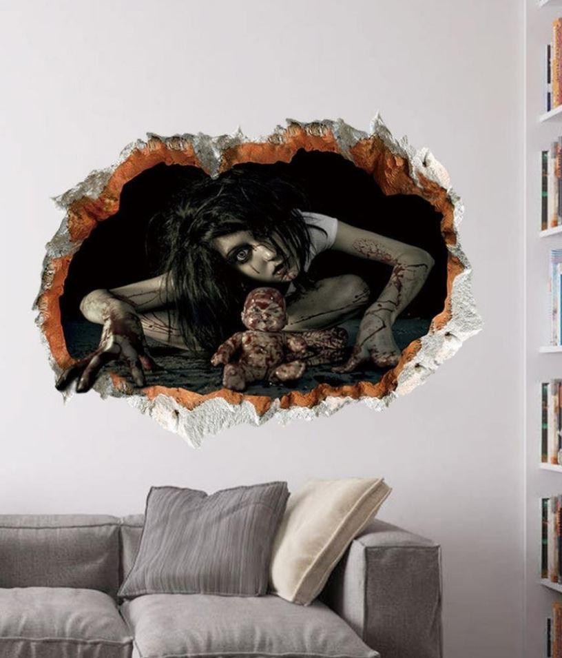 Halloween 3D Wall Sticker