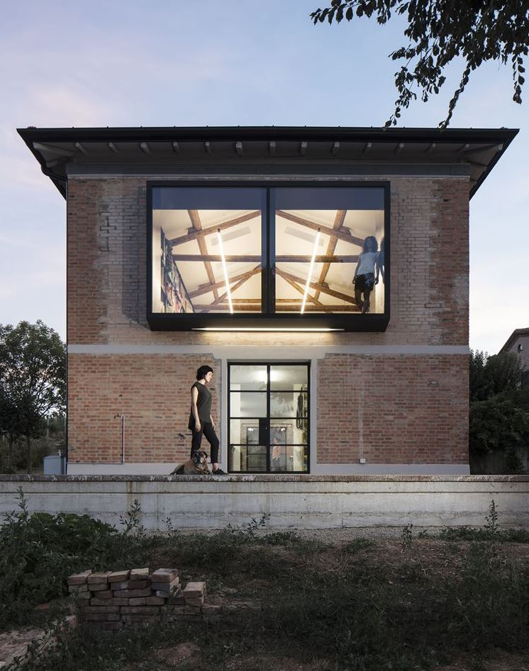 Single-Family Residence in Bologna, Italy by Francesca Pasquali